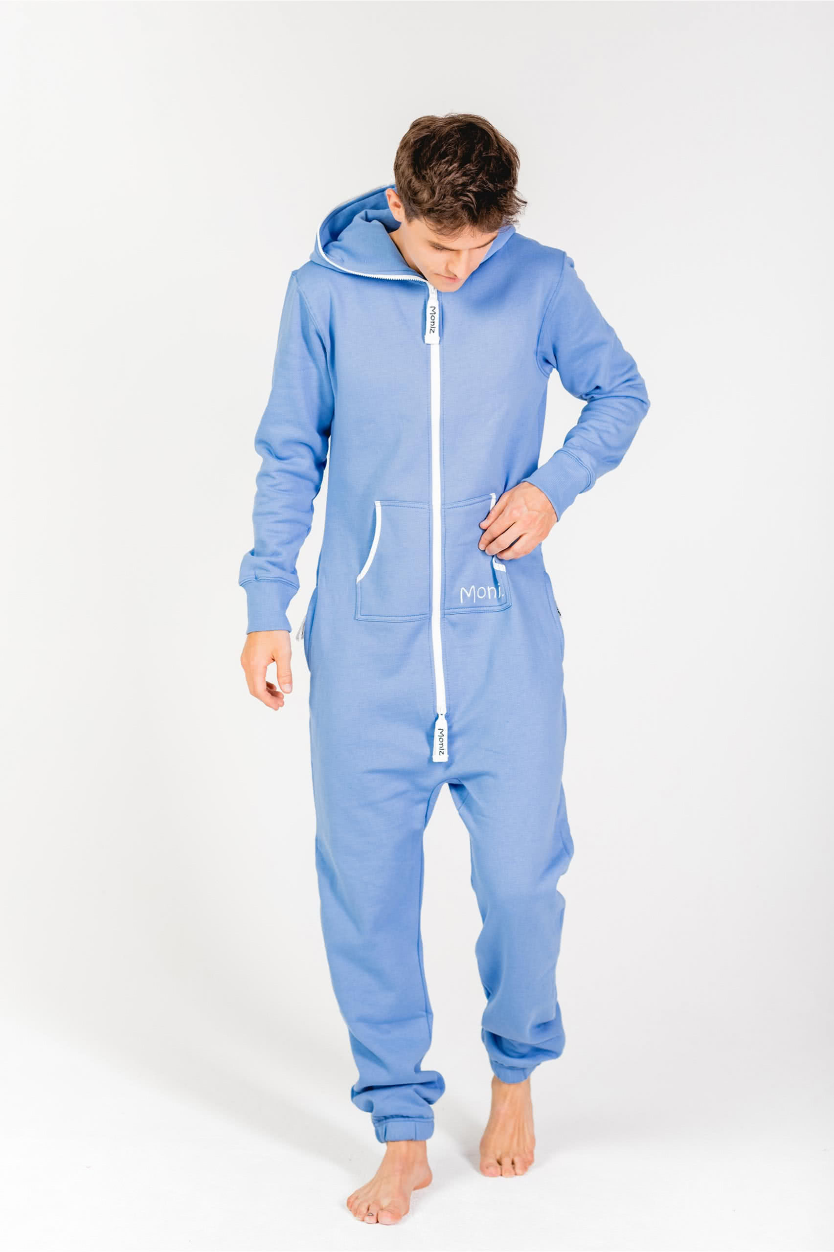 Moniz Herren Jumpsuit Graublau - Beach Blue