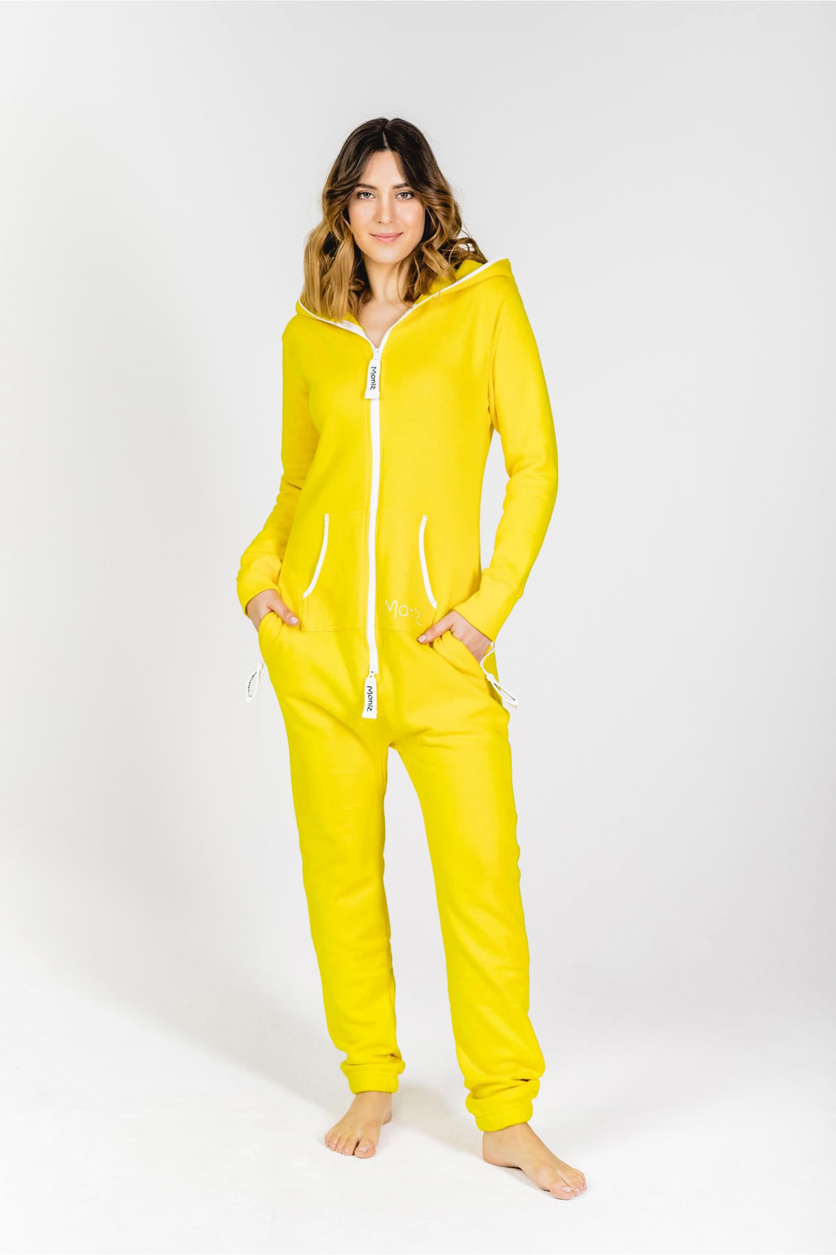 Moniz Damen Jumpsuit Gelb - Sunny Yellow
