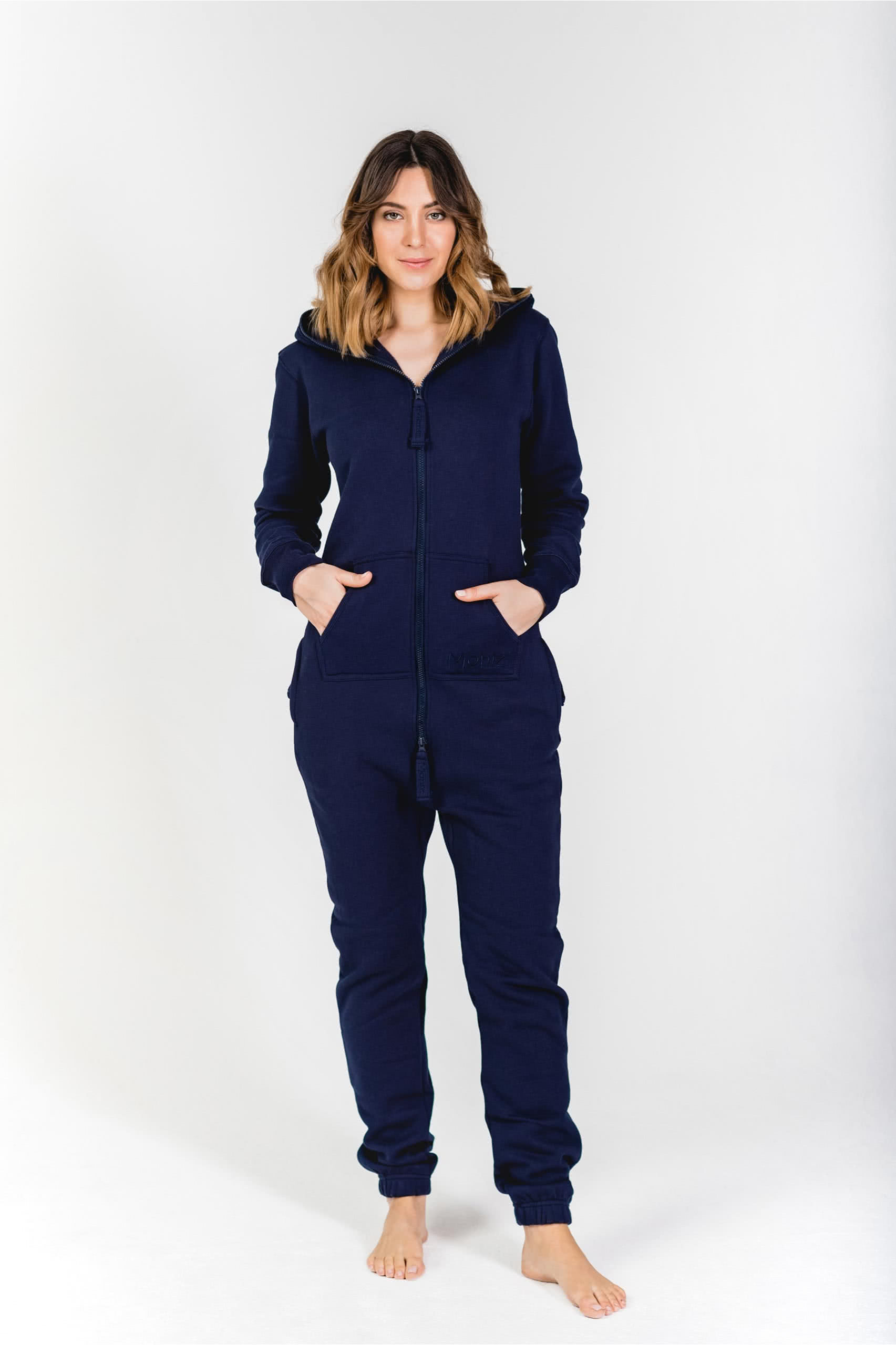 Moniz Damen Jumpsuit Dunkelblau - Midnight Navy