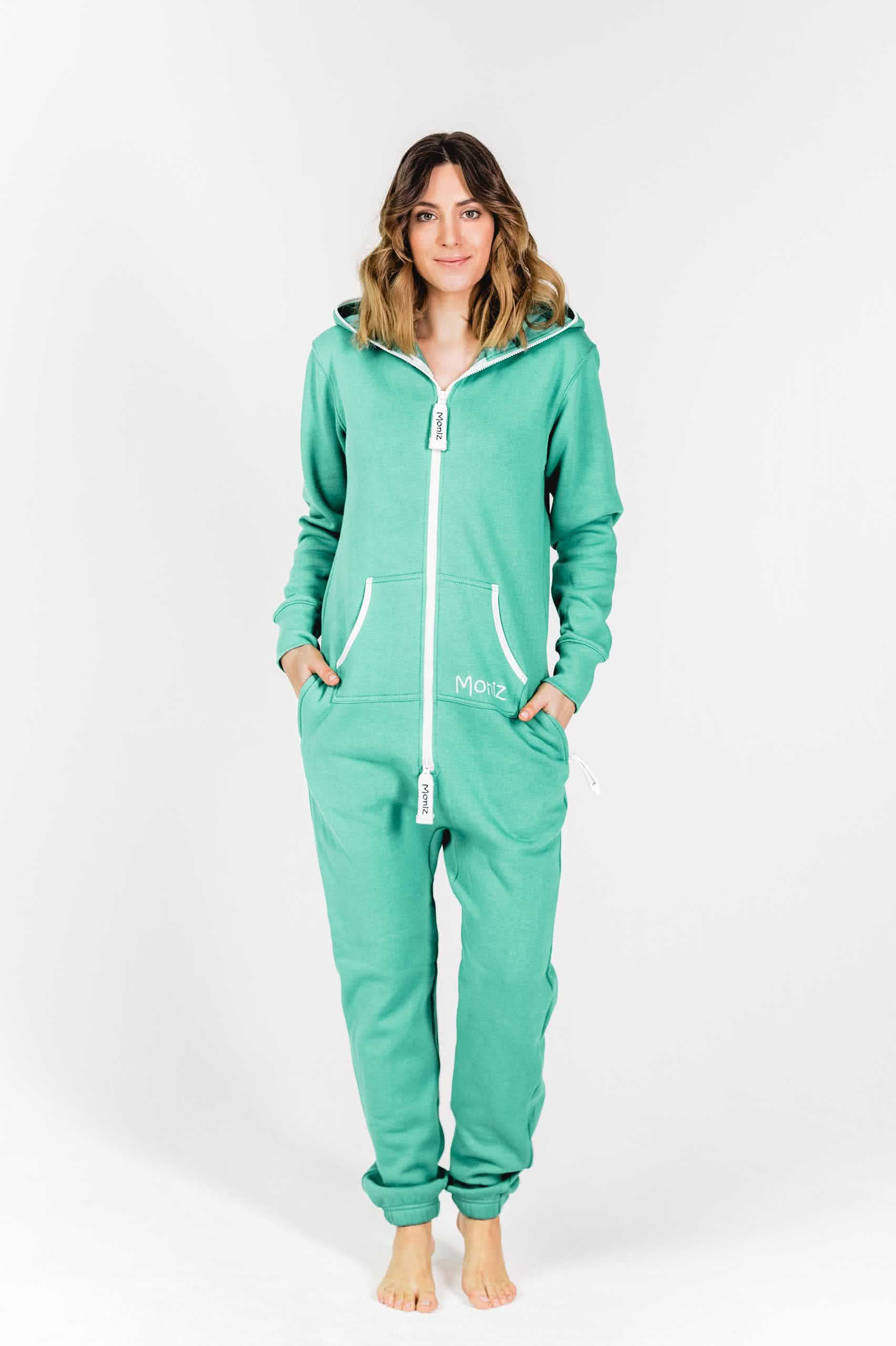 Moniz Damen Jumpsuit Mintgrün - Energetic Mint