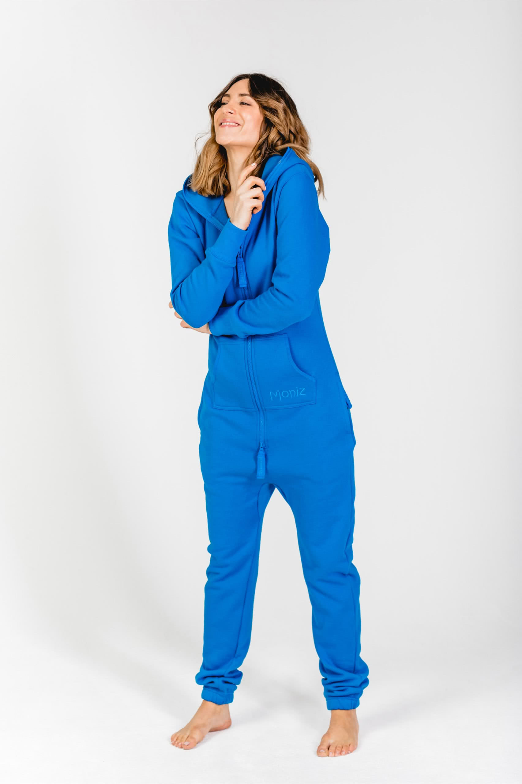 Moniz Damen Jumpsuit Blau - Underwater Blue