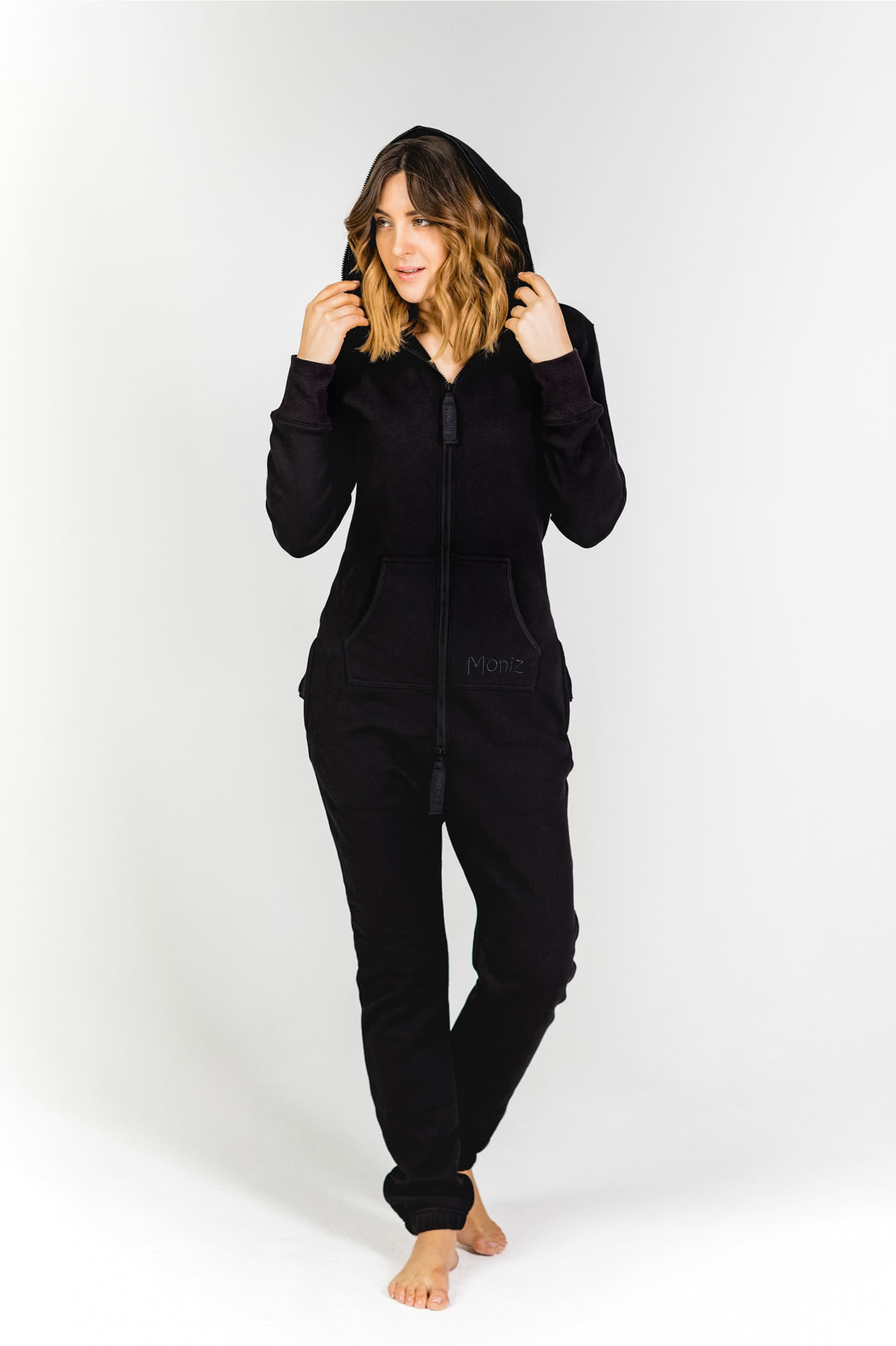 Moniz Damen Jumpsuit Schwarz - Vulcano Black