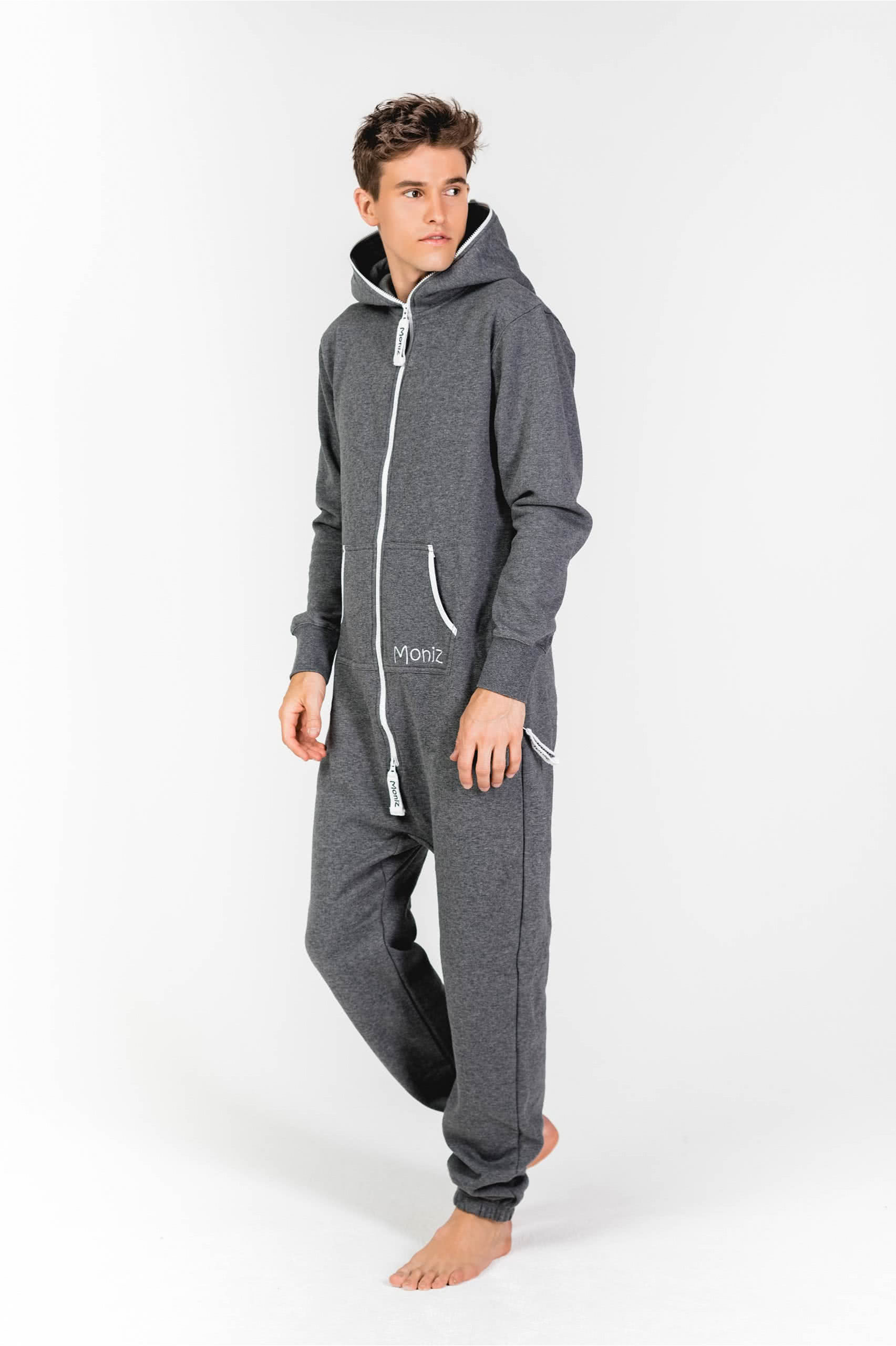 Moniz Herren Jumpsuit Dunkelgrau - Mountain Grey