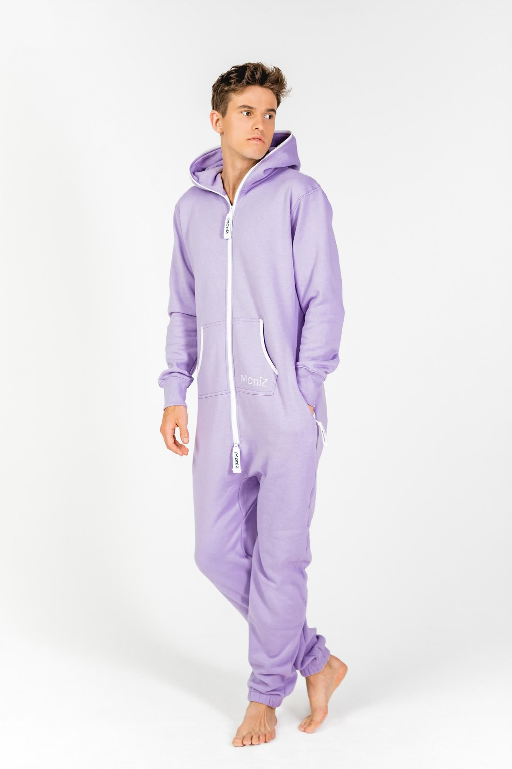 Moniz Herren Jumpsuit Flieder - Sunrise Lavender