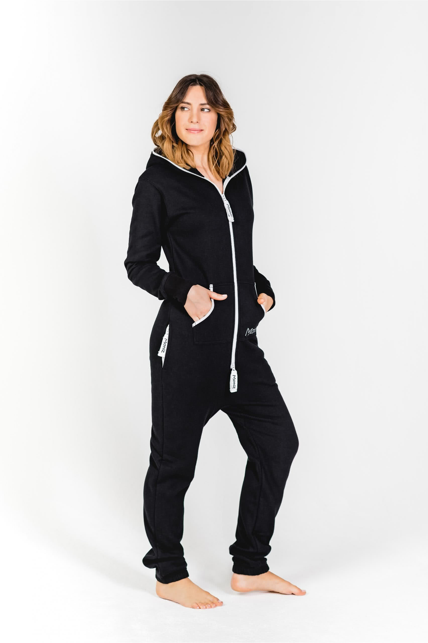 Moniz Damen Jumpsuit Schwarz - Weekend Black