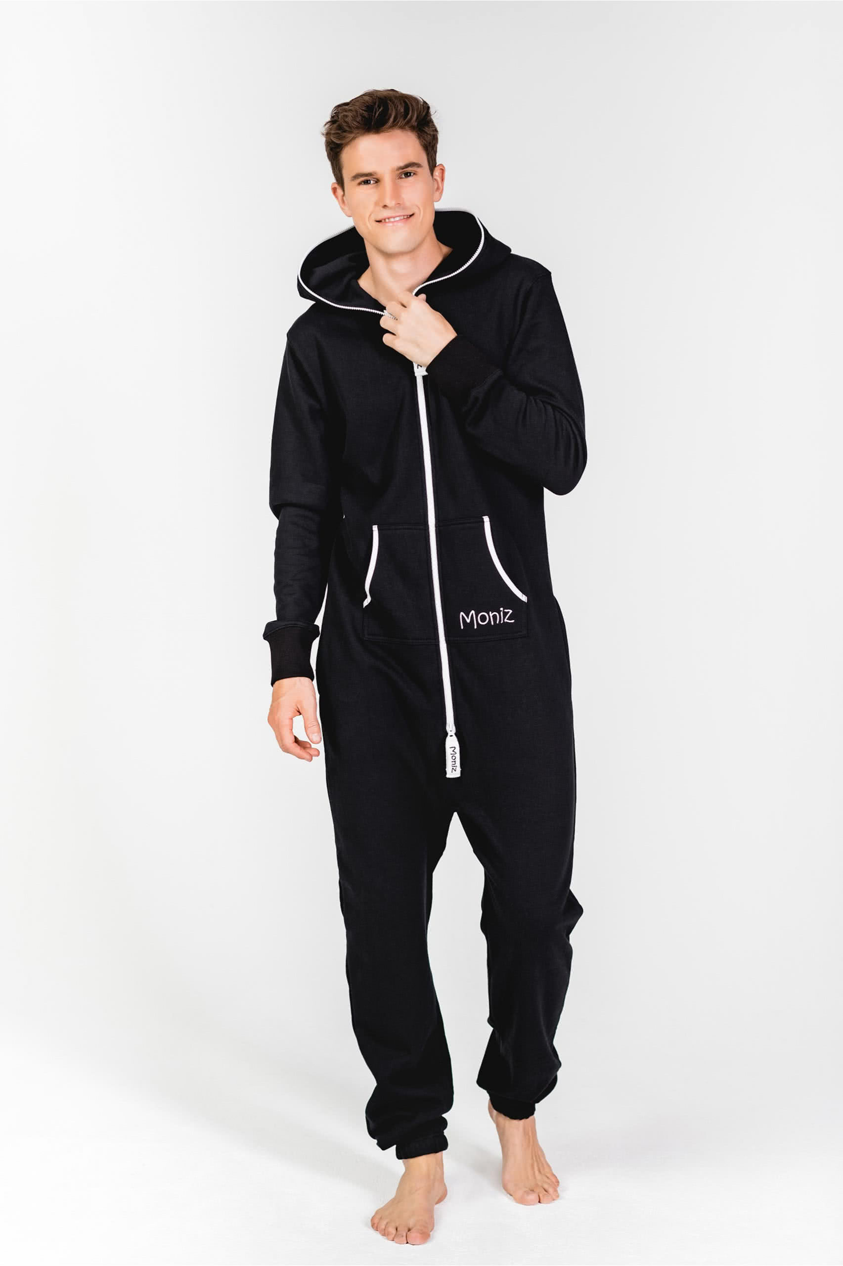 Moniz Herren Jumpsuit Schwarz - Weekend Black