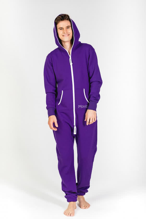 Moniz Herren Jumpsuit Lila - Sunset Purple