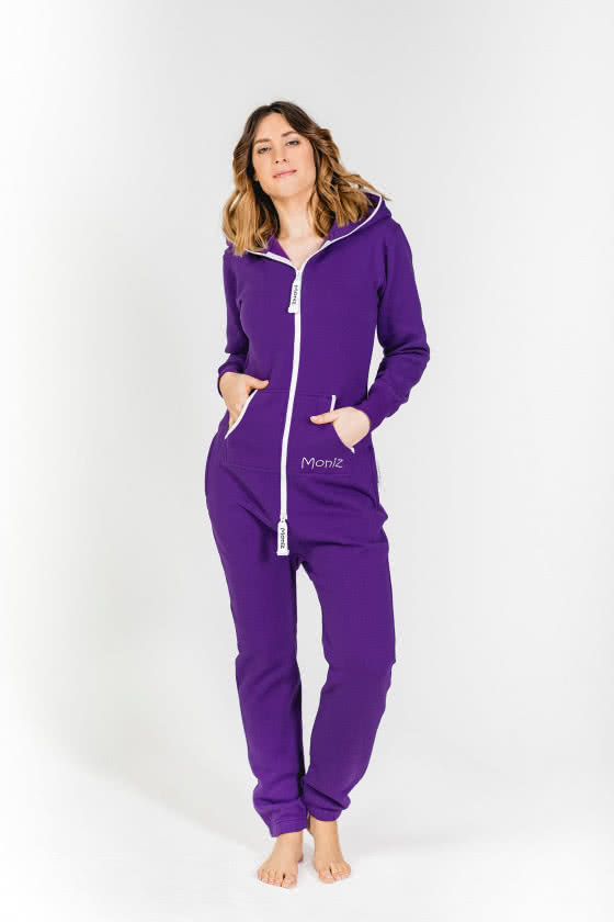 Moniz Damen Jumpsuit Lila - Sunset Purple