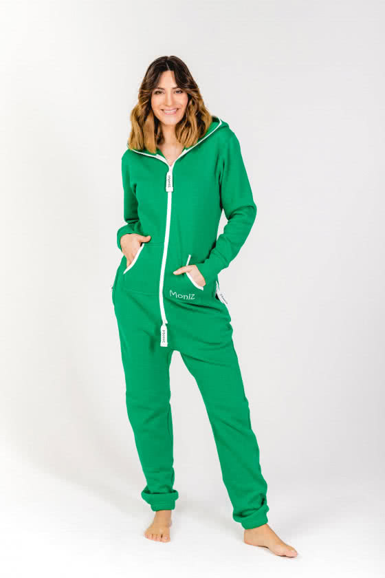 Moniz Damen Jumpsuit Grün - Leaf Green