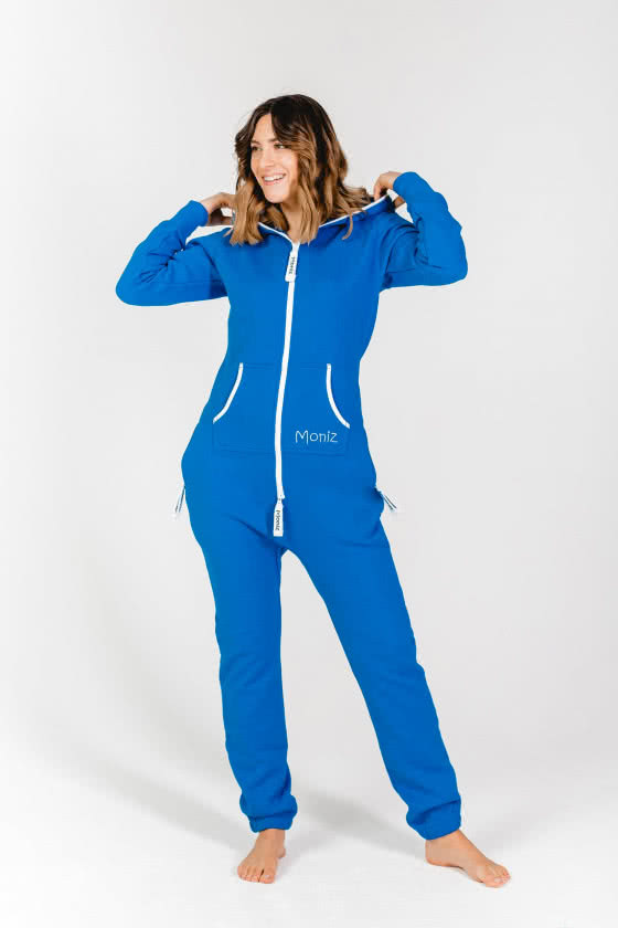 Moniz Damen Jumpsuit Blau - Ocean Blue