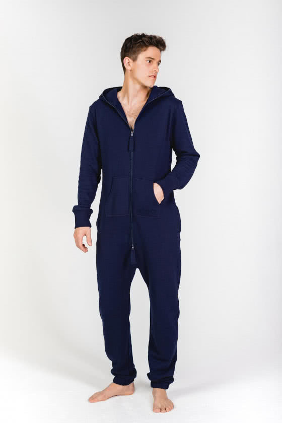 Moniz Herren Jumpsuit Dunkelblau - Midnight Navy