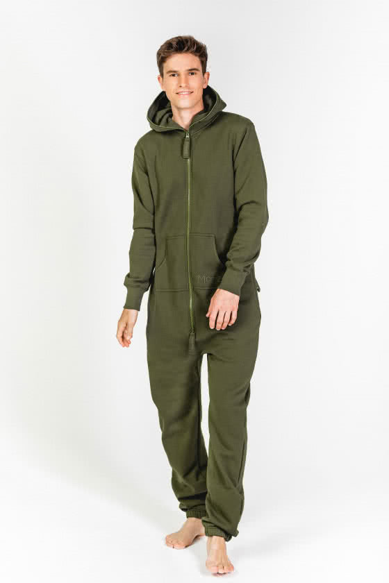 Moniz Herren Jumpsuit Dunkelgrün - Jungle Green