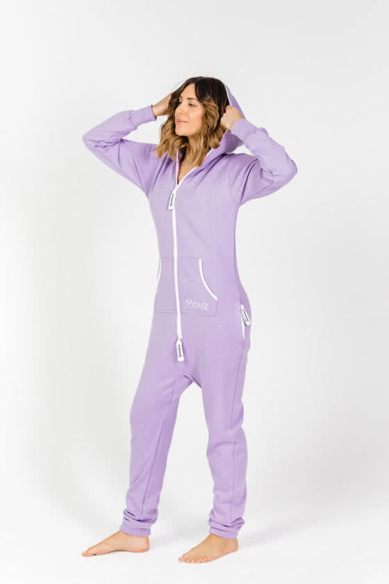 Moniz Damen Jumpsuit Flieder - Sunrise Lavender